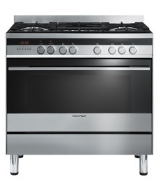 New cooker Fisher & Paykel 90cm 5 burner large oven.